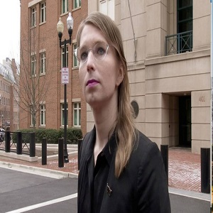 PHOTO Former US Army intelligence analyst Chelsea Manning s